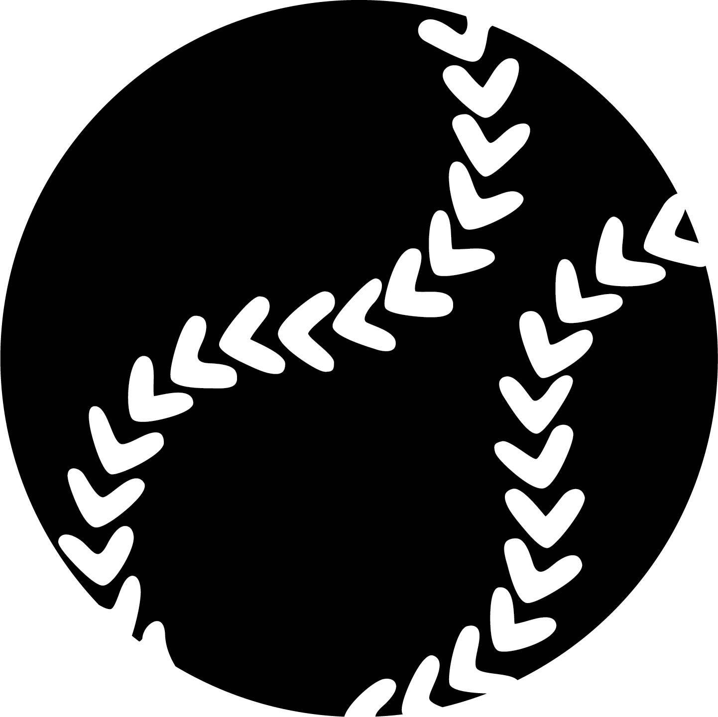 softball ai eps jpg png and svg clipart vinyl stencil cricut silhouette cameo by riasdigitaldesigns on etsy  [ 1442 x 1441 Pixel ]