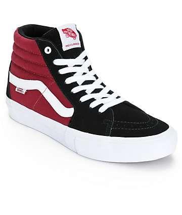 5fd193b328 Vans x Real Sk8-Hi Pro Skate Shoes (Mens)