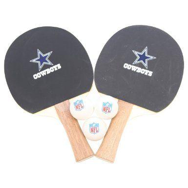 Dallas Cowboys Nfl Logo Ping Pong Paddle Set Sports Outdoors Dallas Cowboys Pinterest