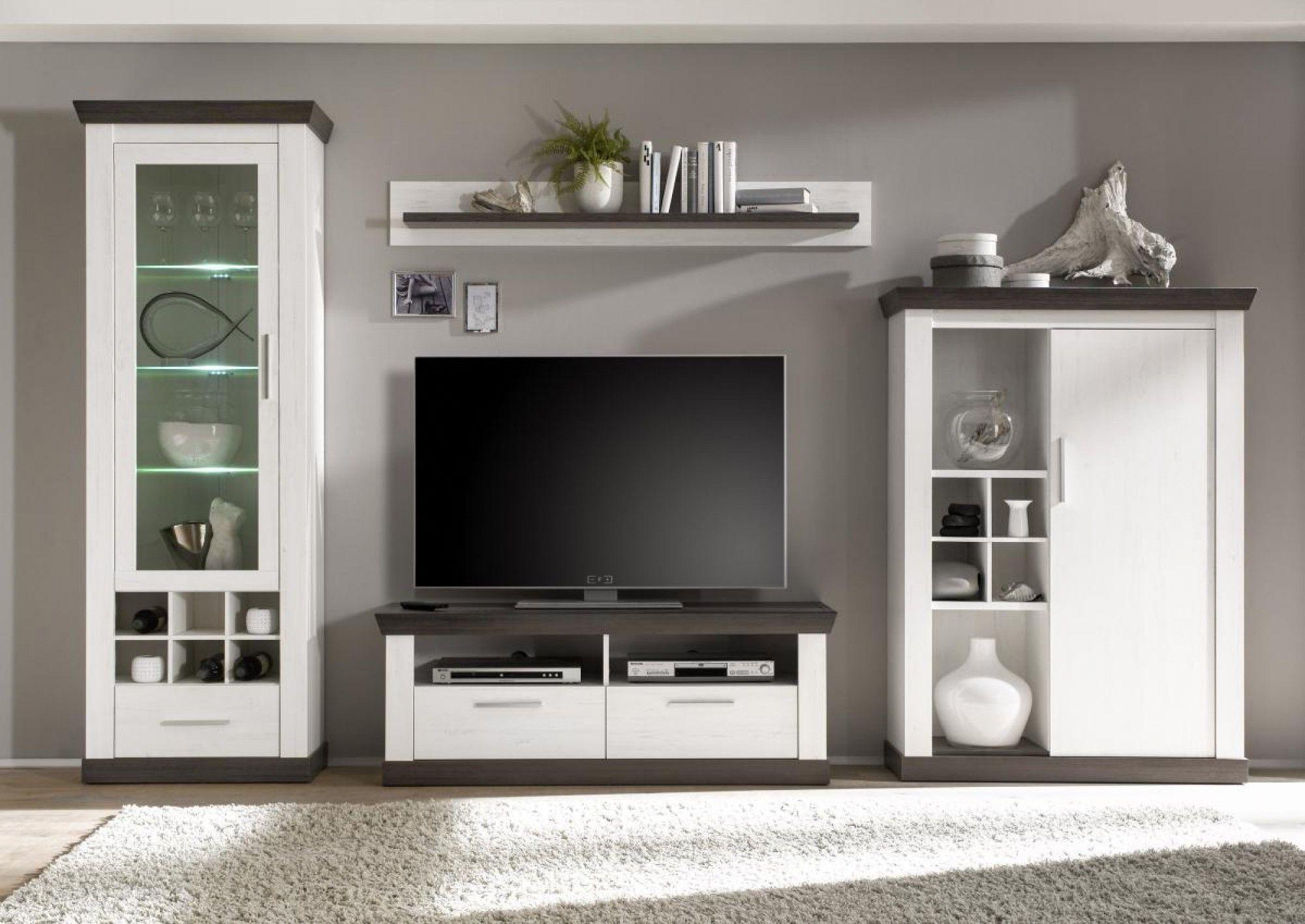 wohnwand siena in 2019 einrichtungsideen tv m bel landhaus schrankwand und m bel. Black Bedroom Furniture Sets. Home Design Ideas