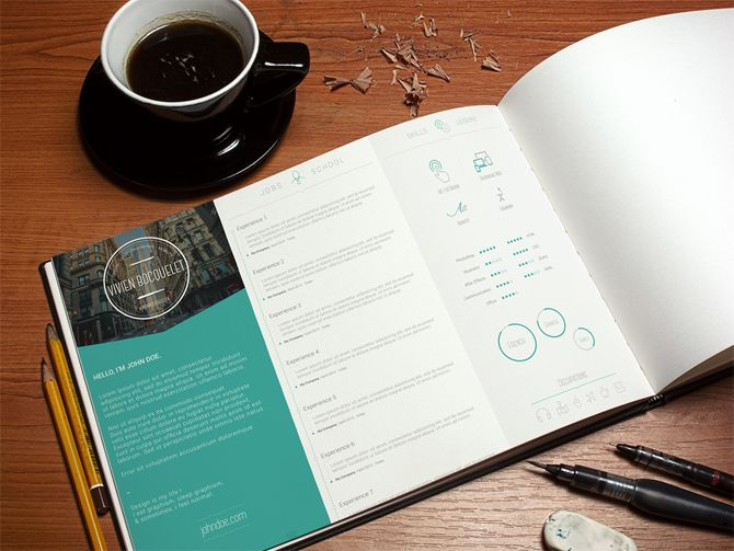 Best Free Resume Templates  Psd Ai Doc  Free Printable