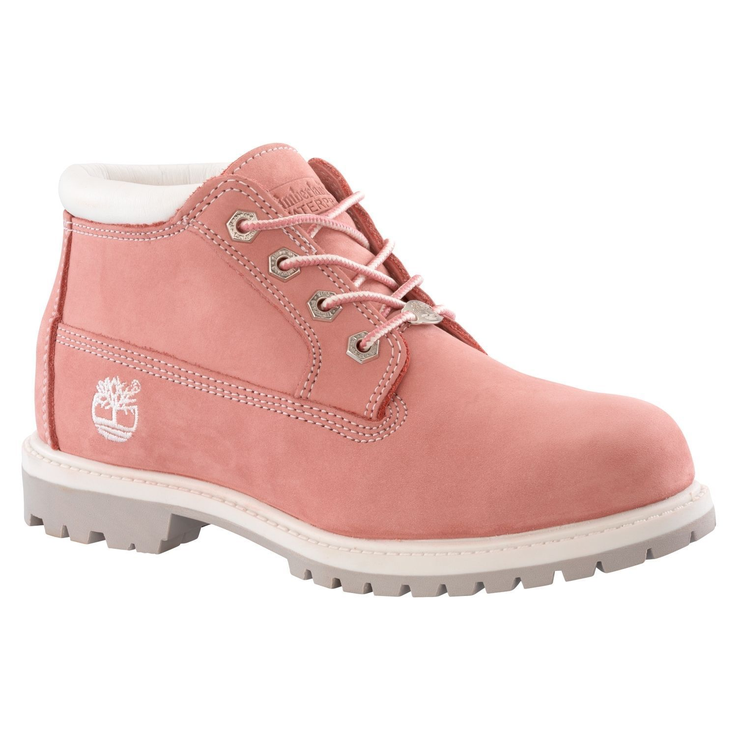 0ab6ccde5b2c Timberland Women S Waterproof Nellie Chukka Double Sole 23308 Pink All Sizes