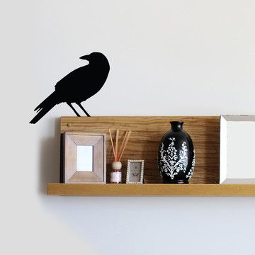 Crow Decal now featured on Fab.