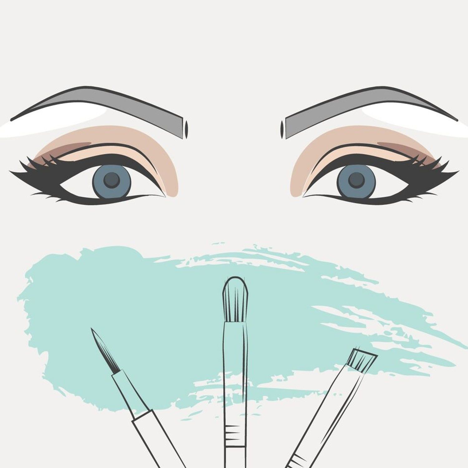 How to do a smoky eye thats best for the shape of your peepers how to do a smoky eye thats best for the shape of your peepers flowchart makeup tutorialsmakeup baditri Image collections