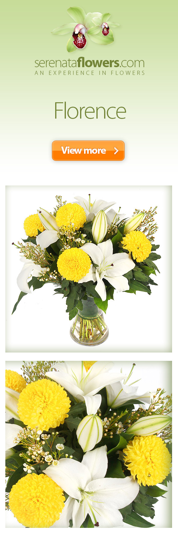 flowers bouquet autumn fall yellow white lilies