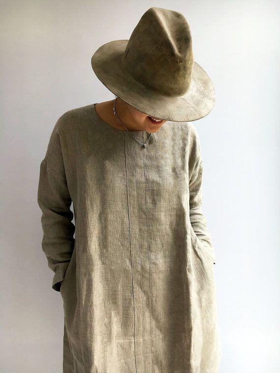 611d6c772 Natural linen tunic