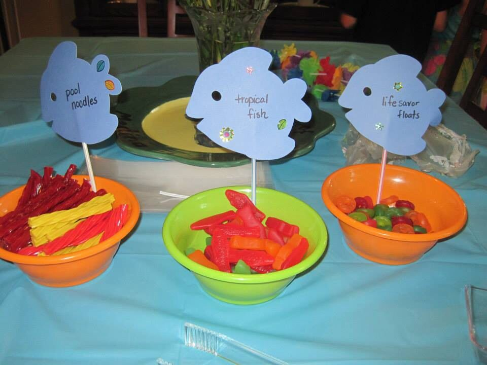Take home treat for beach birthday party