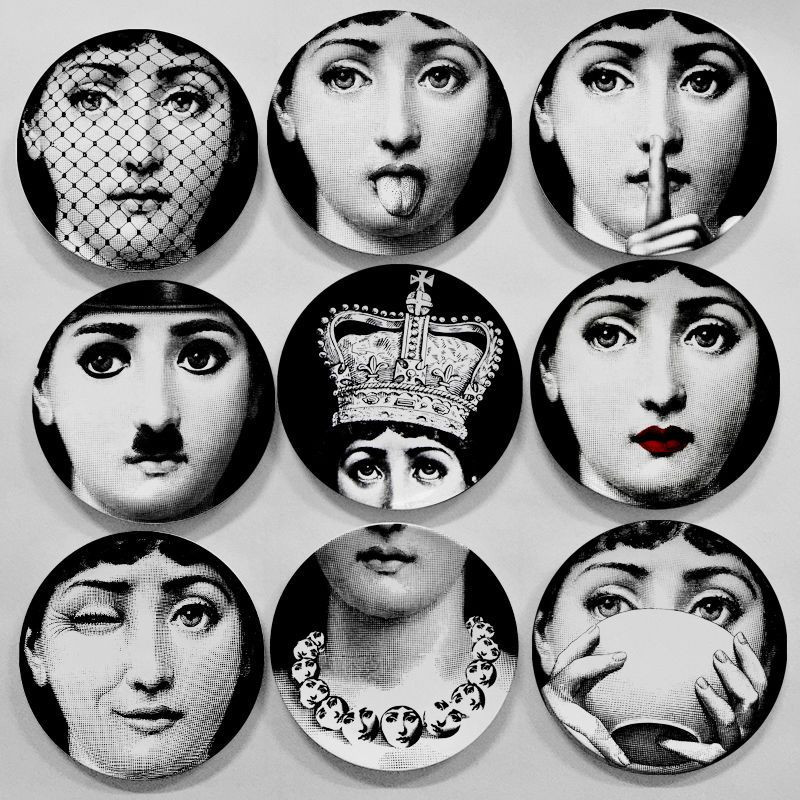 Details About Reproduction Replica Fornasetti 7 Plate