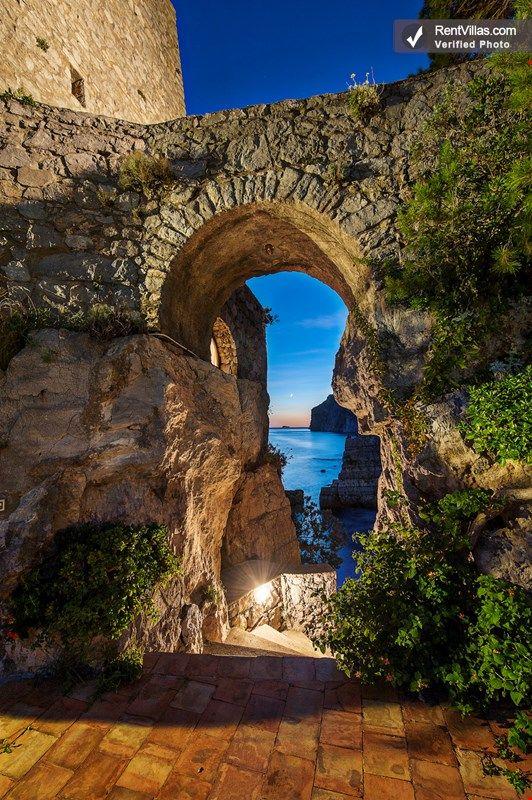 Photos of Historic Beachfront Villa with Gorgeous Views Near Positano   - Torre Mare - RentVillas.com