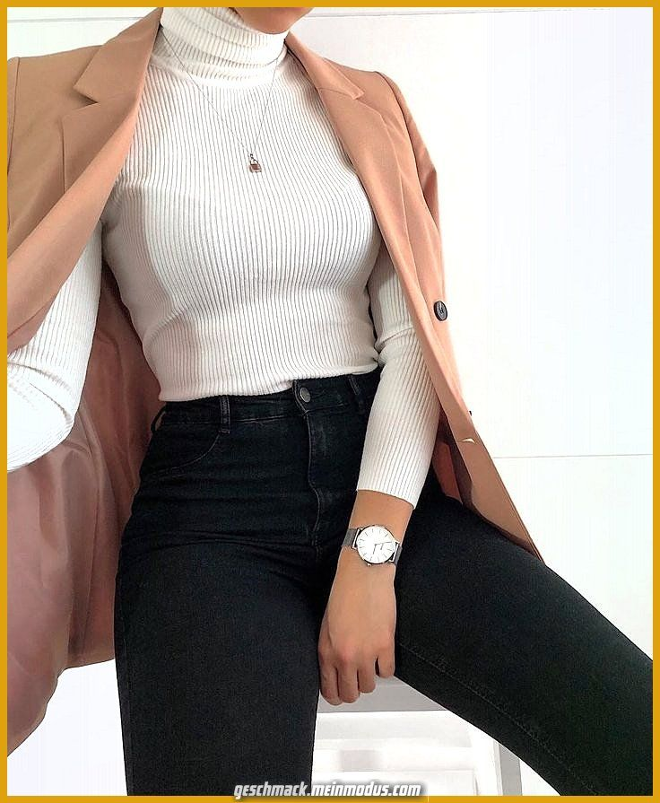 Photo of Great ribbed turtleneck top
