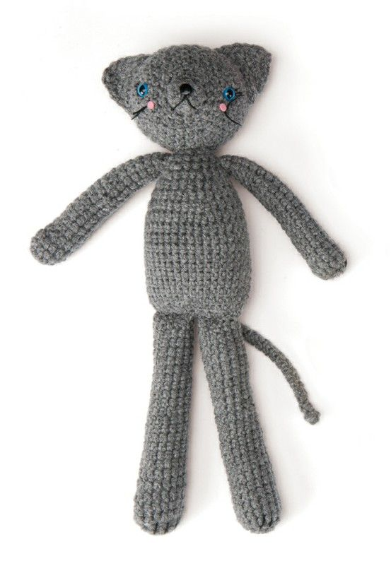 Coco the Cat - a wonderful free pattern. Love it, thanks so for the ...