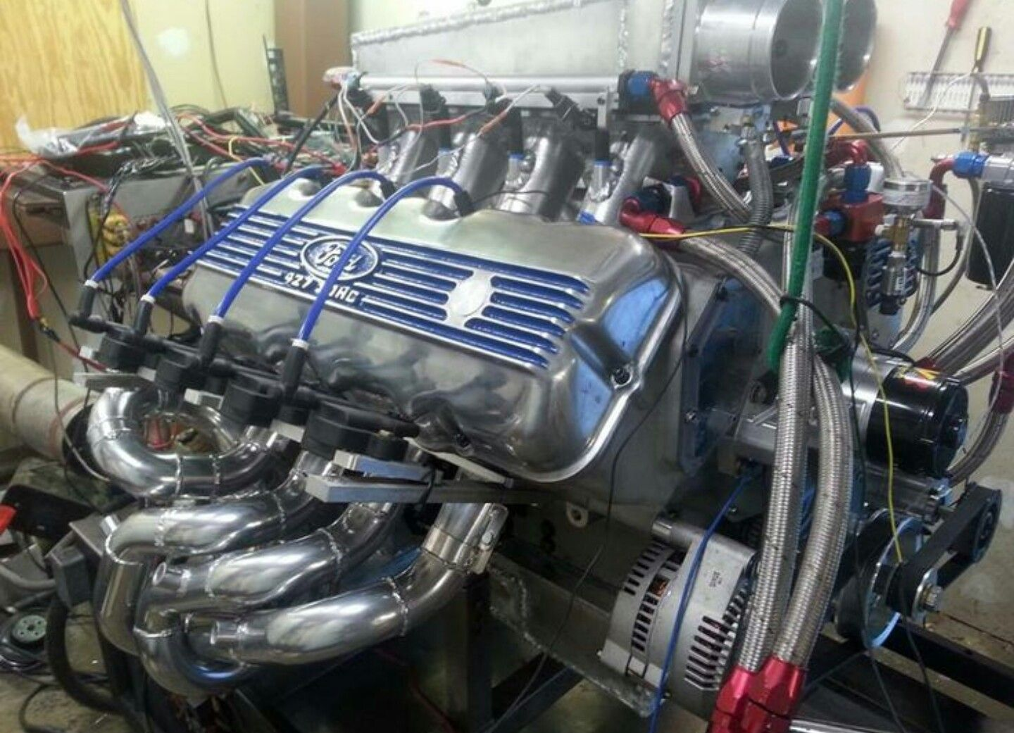 427 Sohc Cammer Ford Racing Engines Engineering Ford Racing