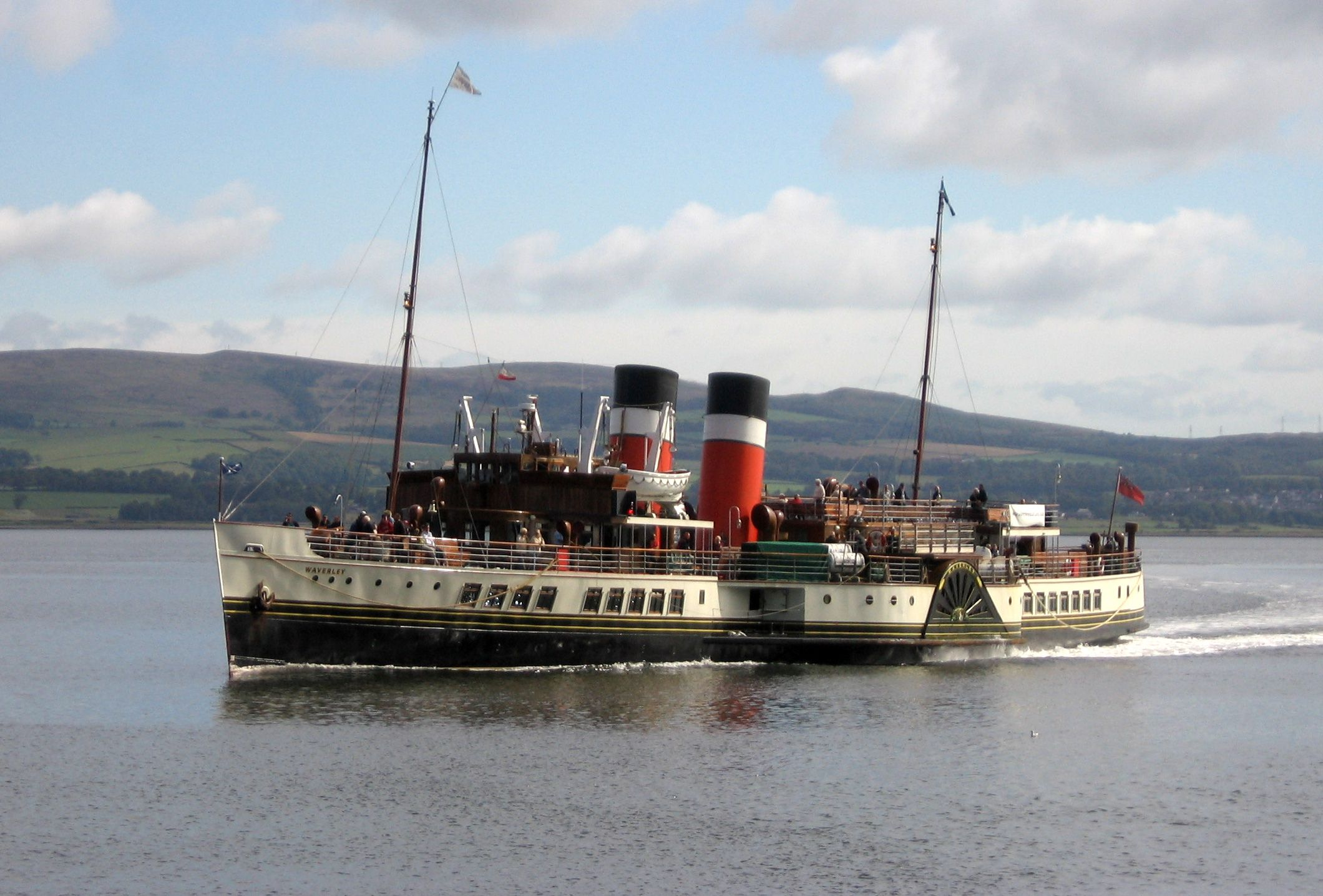 Waverley Steamer Won T Stop At Fort William River Boat Fort William Steam Boats