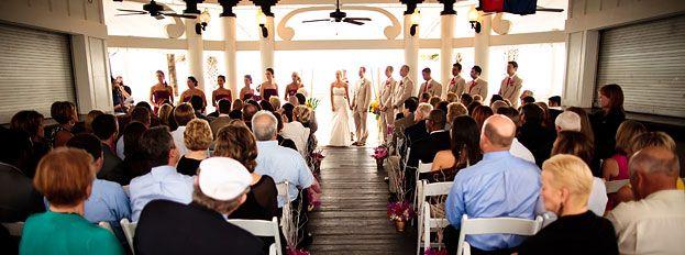 Beach Weddings South Carolina Wild Dunes Resort Pavilion