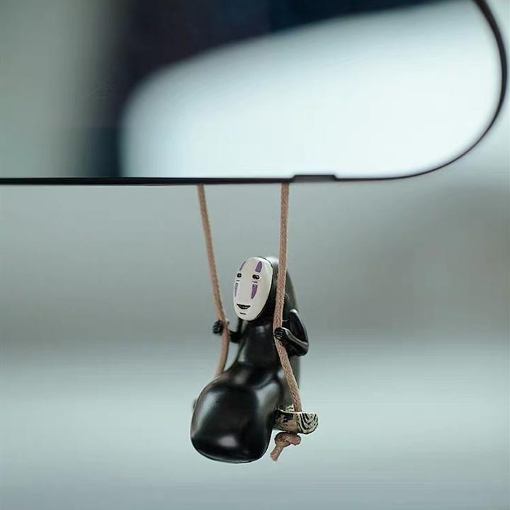 Spirited Away Haku kaonashi Car Mirror Charm Pendant