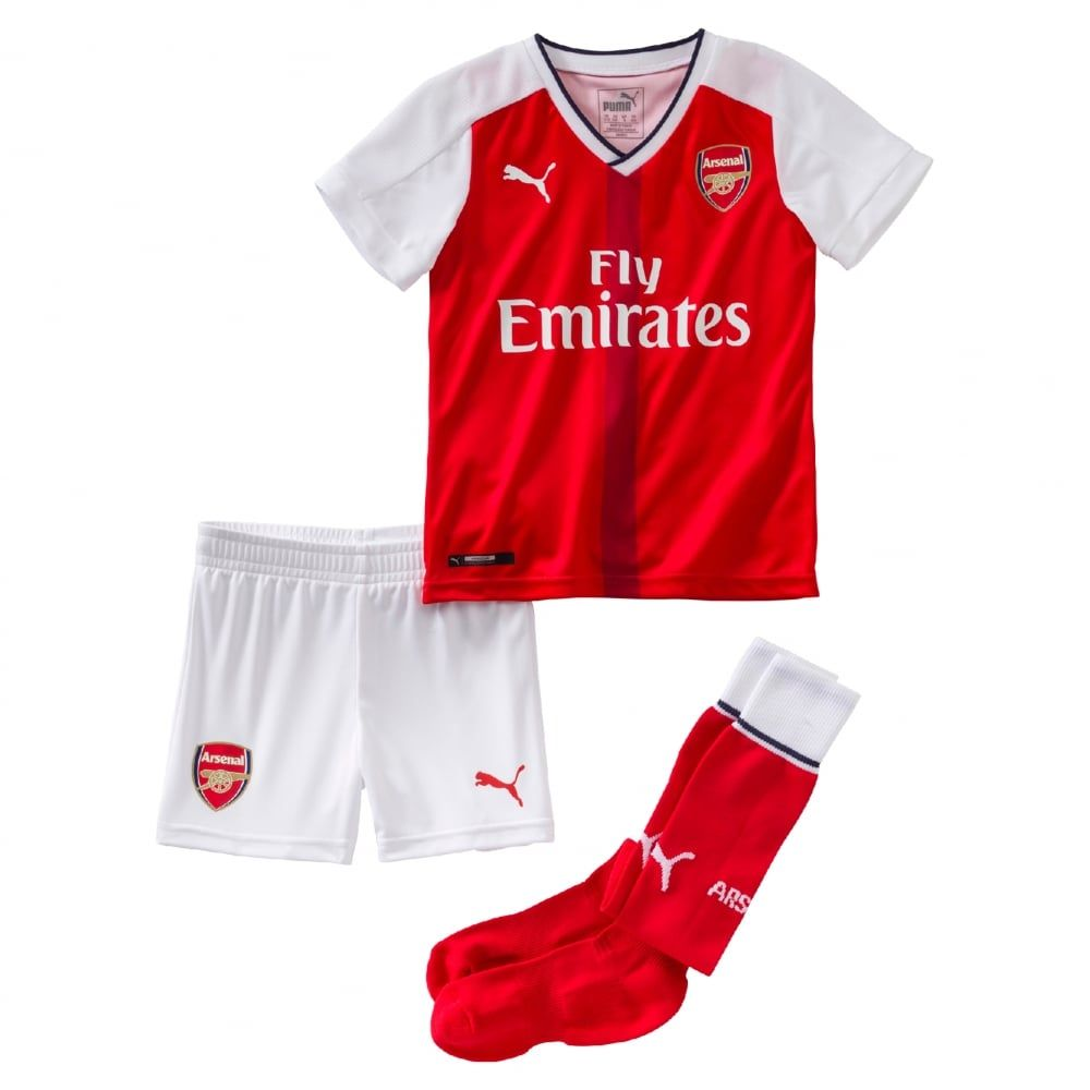 a96513315 Puma Arsenal Home Mini-Kit 2016 2017