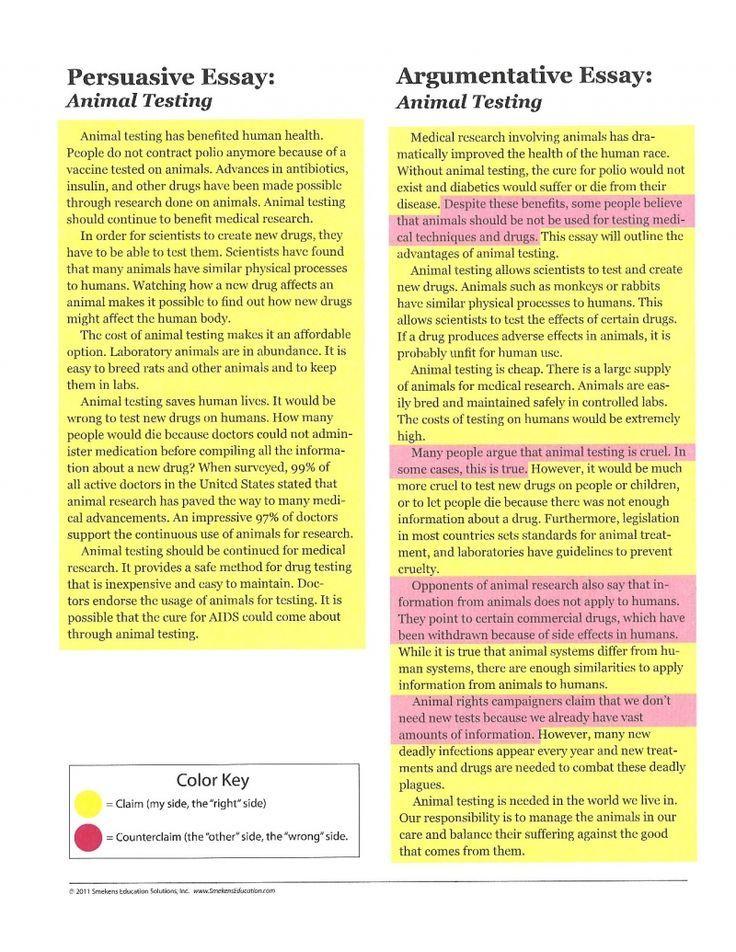 Persuasive  Argumentative Essay Know English through - argumentative essay
