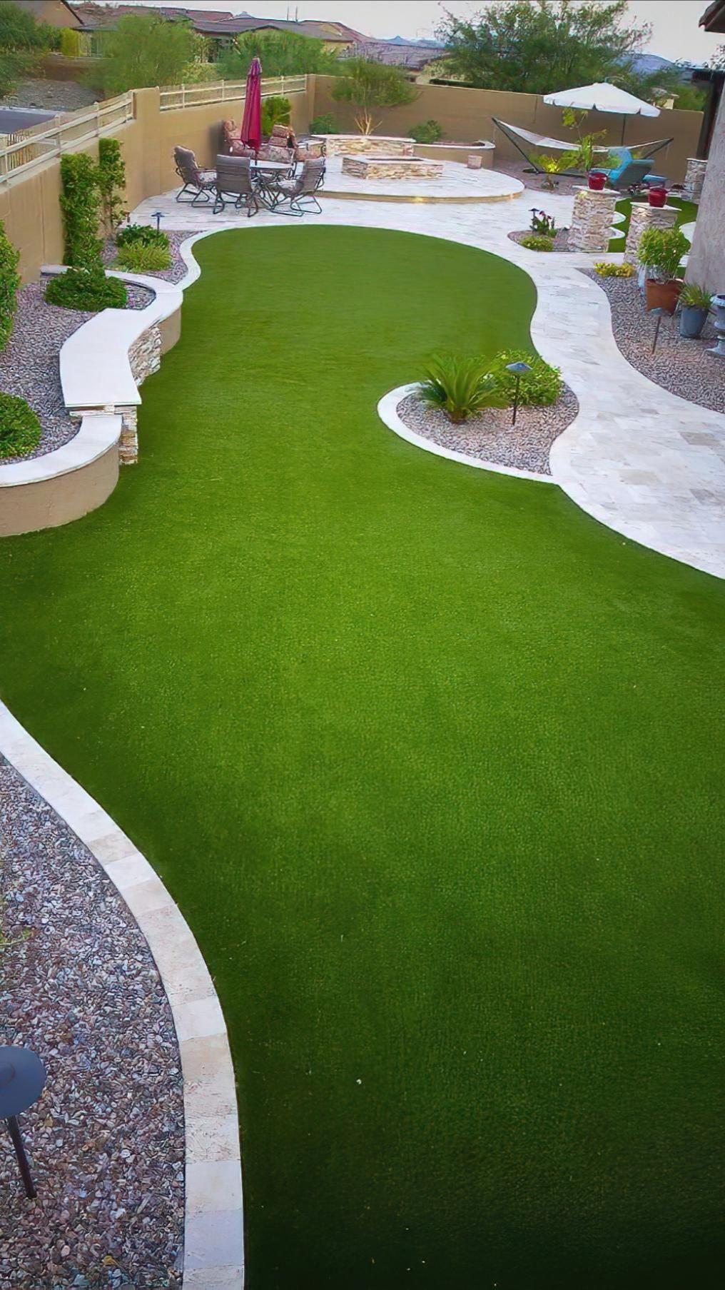 Amazing Garden Lawn Pinterest Backyard landscaping ideas with turf