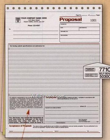 Bid Proposals Printable Blank Bid Proposal Forms Forms Sample