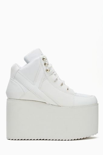 29e05d6453ca Alliance Platform Sneaker in White by  YRU