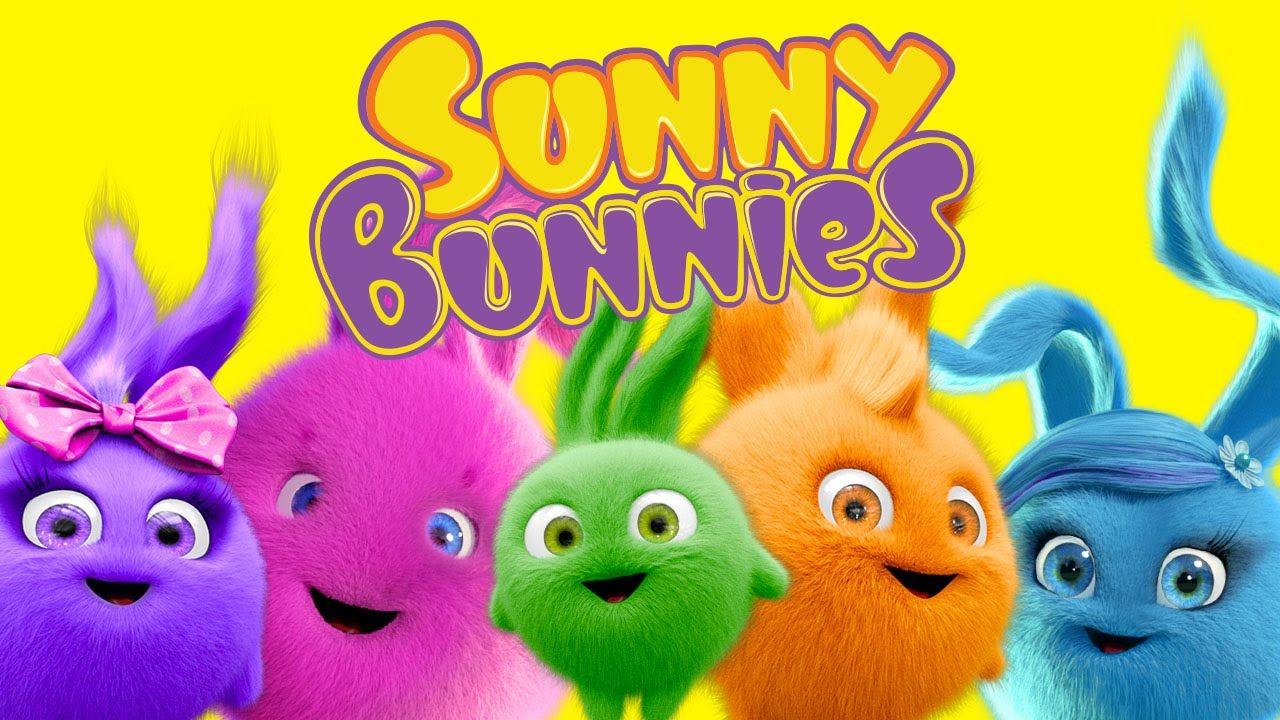 Cartoon Sunny Bunnies Meet The Bunnies Funny Cartoons For Bunny Birthday Party Bunny Cute Baby Bunnies