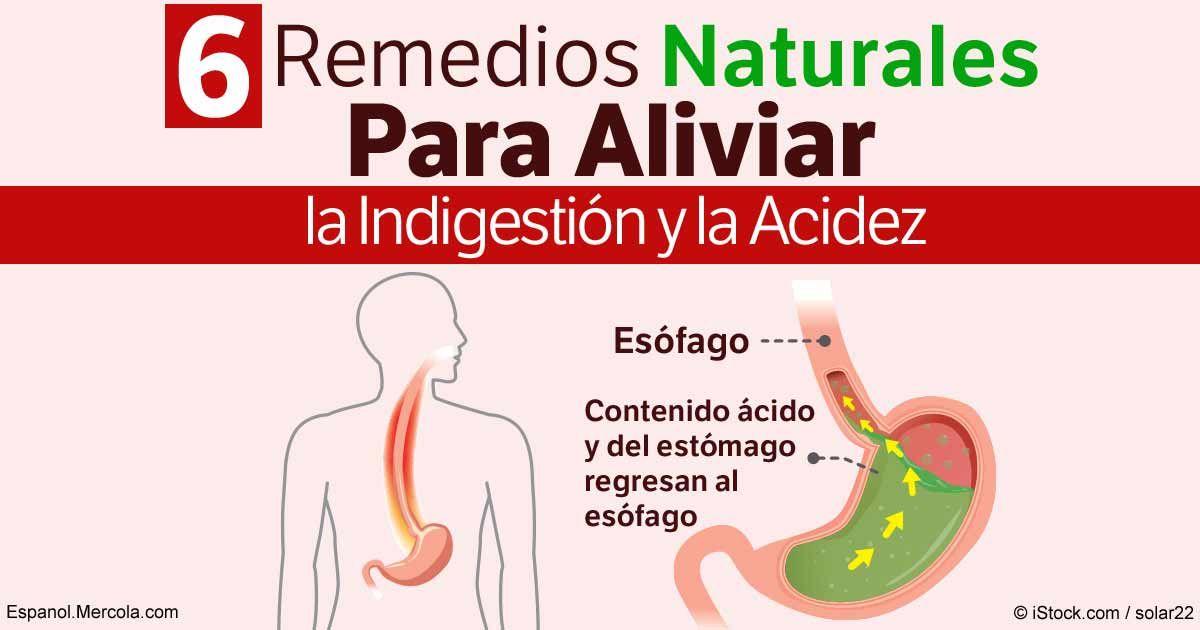 La indigestión y el ardor de estómago no son experiencias agradables. Aquí hay 6 maneras naturales de superar esta experiencia incómoda. http://articulos.mercola.com/sitios/articulos/archivo/2016/12/20/6-remedios-naturales-para-la-acidez-e-indigestion.aspx