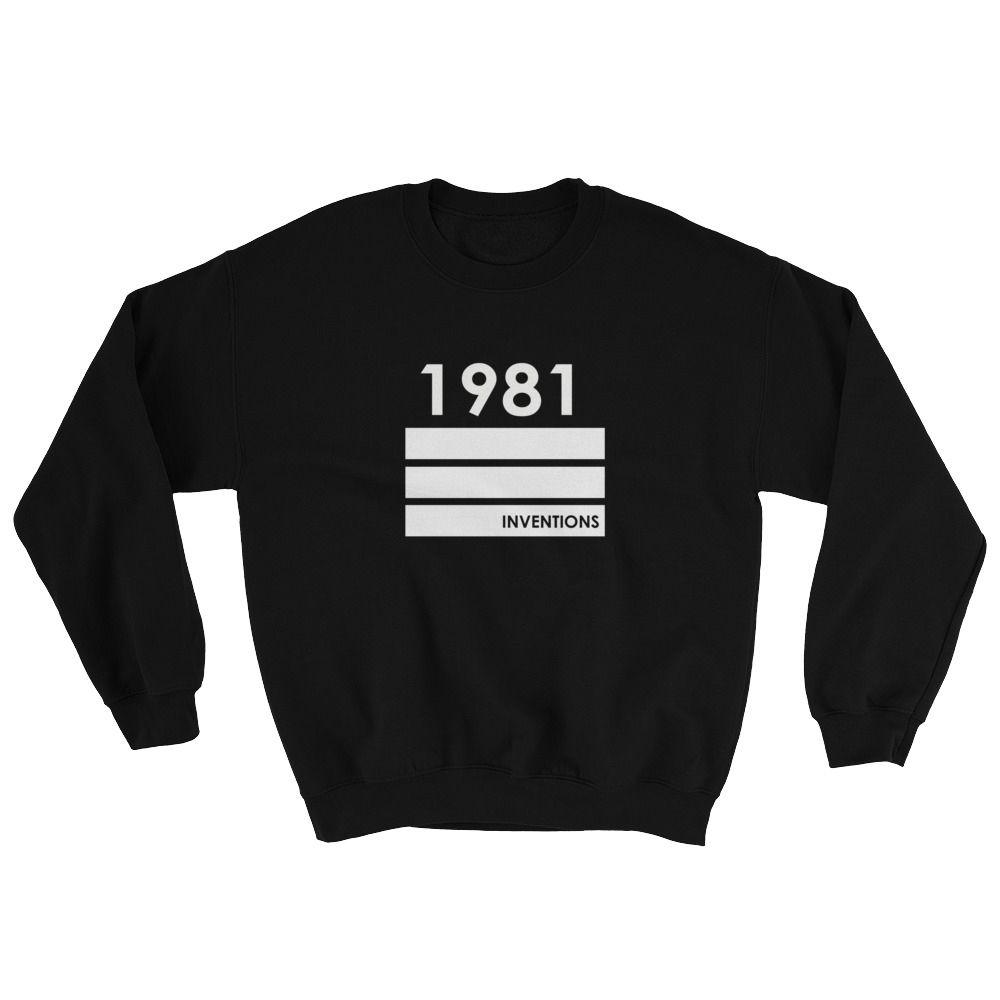 1981 Inventions Gildan 18000 Unisex Heavy Blend Crewneck Sweatshirt Cheap Graphic Tees Sweatshirts Crew Neck Sweatshirt Custom Shirts [ 1000 x 1000 Pixel ]