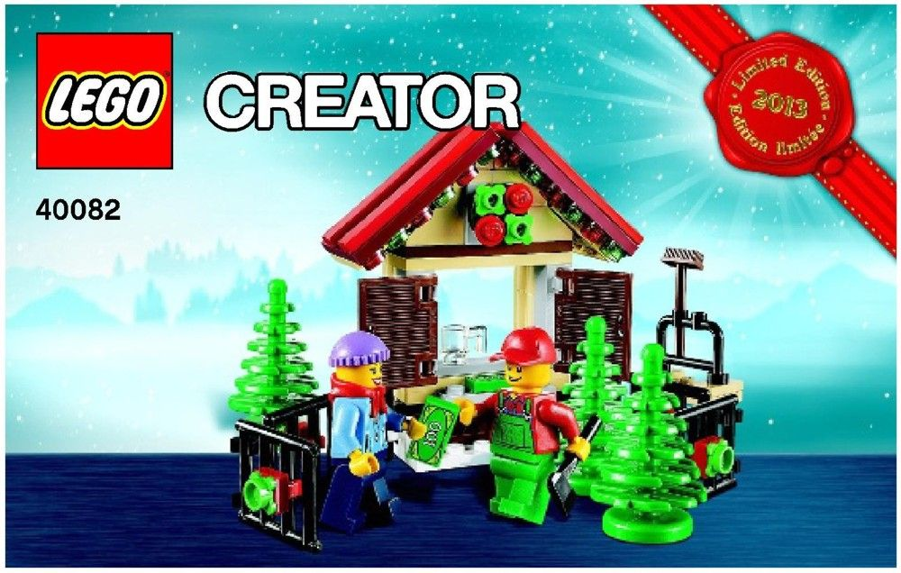 Instructions Pdf Seasonal Christmas Tree Stand Lego 40082