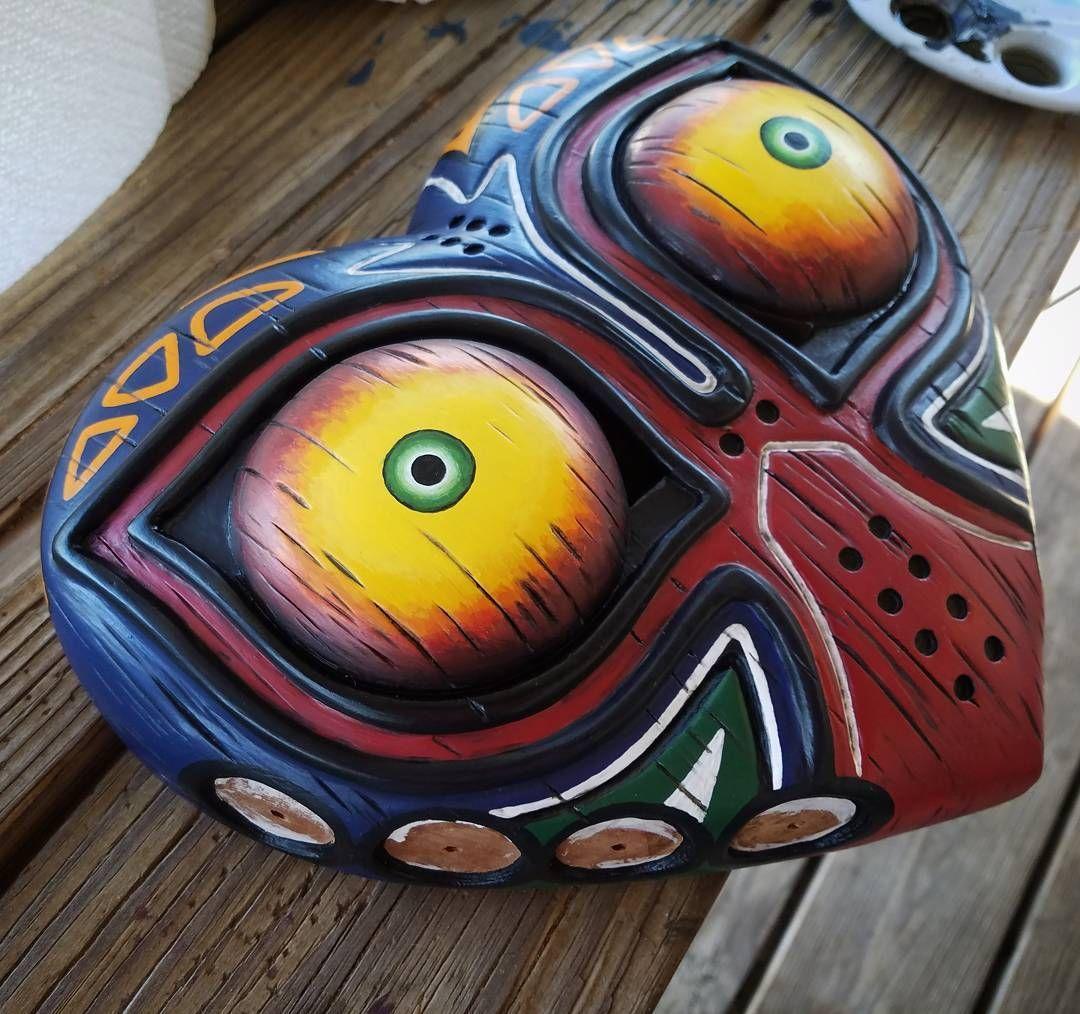 Real Majora S Mask By Bobby Duke Arts Bobbydukearts On