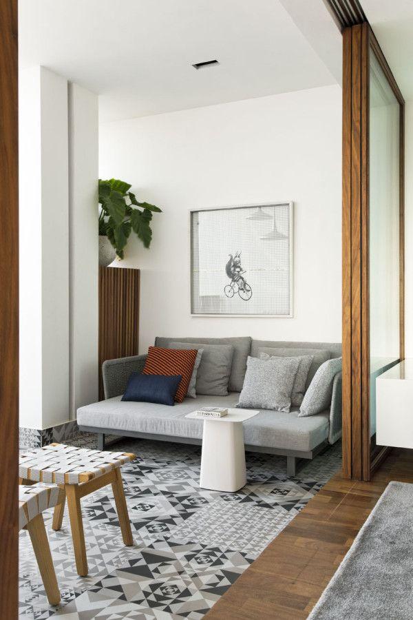 360 Degree Apartment By Diego Revollo Interior Design Living