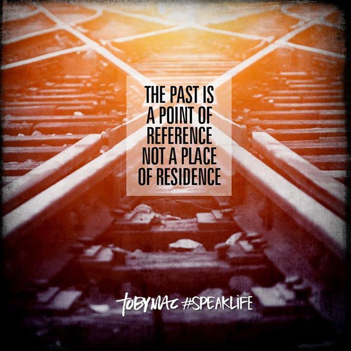 The past is a point of reference, not a place of residence