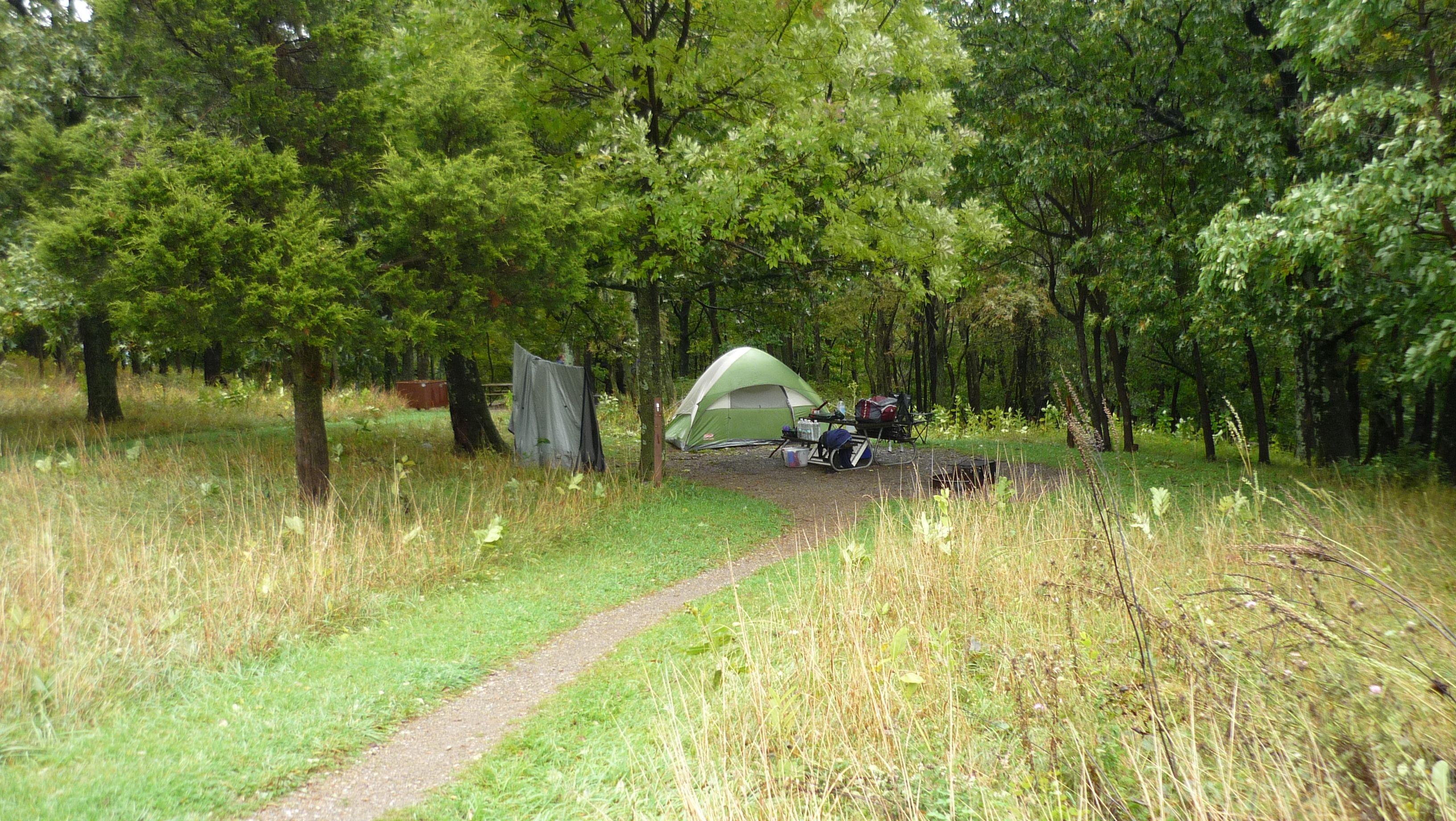 popular Big Meadows Campground