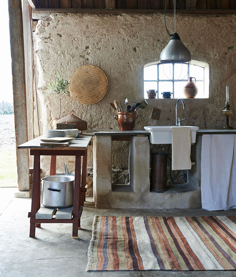 Cocina de piedra   Casas/Houses   Pinterest   Cocina de piedra ...