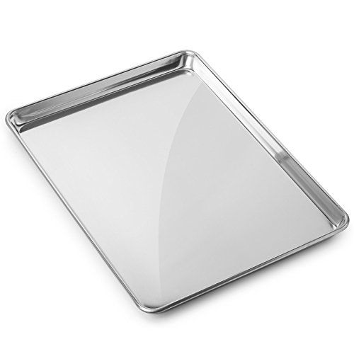Gridmann 15 X 21 Aluminium Cookie Sheet Baking Tray Pan Three Quarter Sheet 1 Pan Click On The Image For Additional Details Tray Bakes Cookie Sheet Baking
