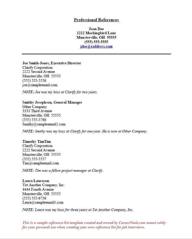 Teacher resume reference page professional resume in photoshop