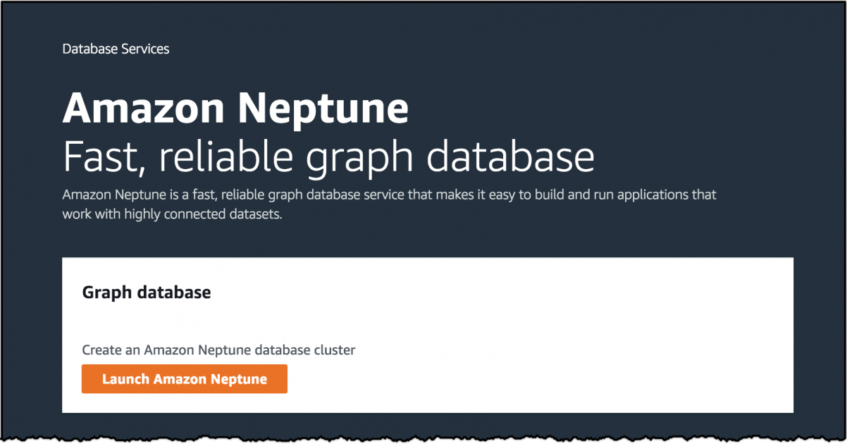 Amazon Neptune Generally Available Graph database, Cloud