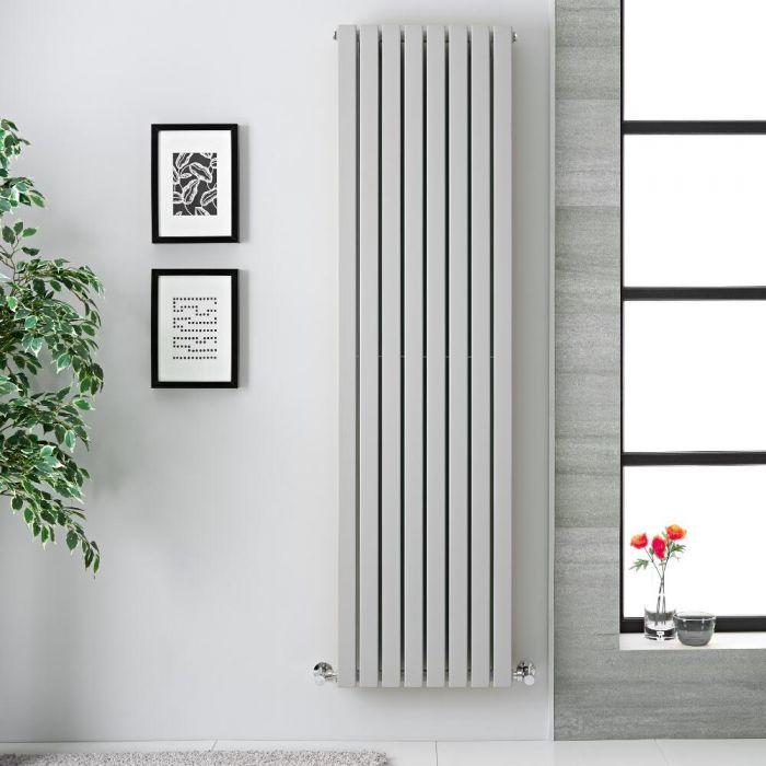 deze licht grijze sloane designradiator is perfect voor de hedendaagse moderne woonkamer keuke badkamer