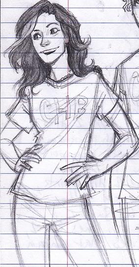 Perseus Face Drawing