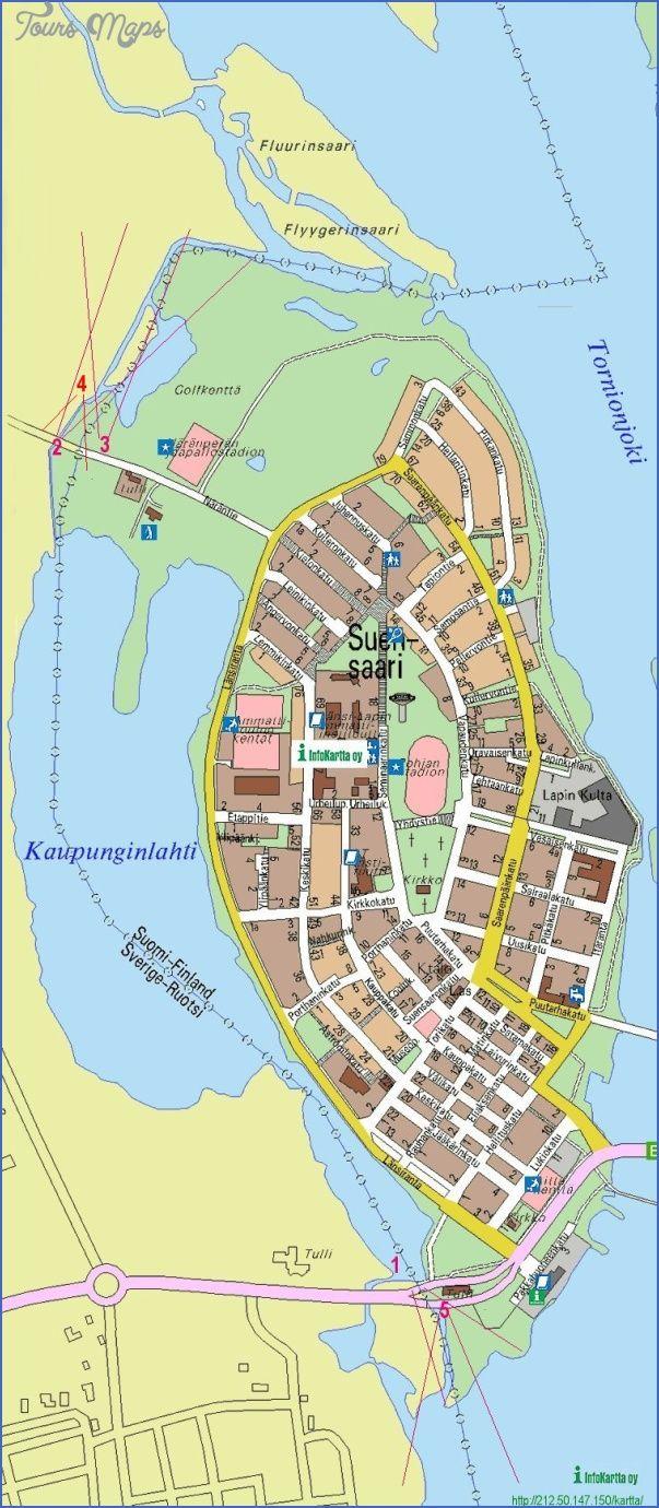 Tornio Tornea Finland Map Finland Map Finland Boat Trips