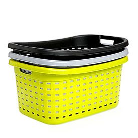 Plastic Weave Laundry Baskets At Big Lots Woven Laundry Basket