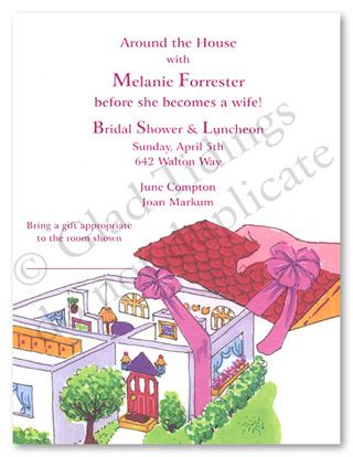 household shower decorations favorite around the house bridal shower invitations