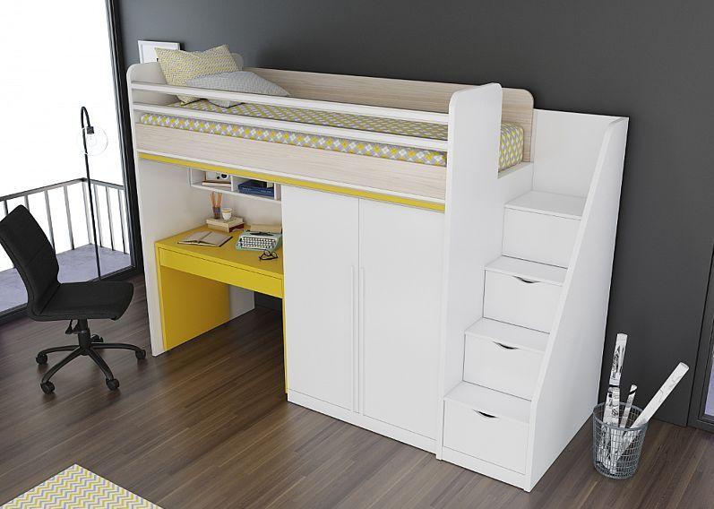 Smart Treppe für Hoch/ Etagenbett mit Schubladen
