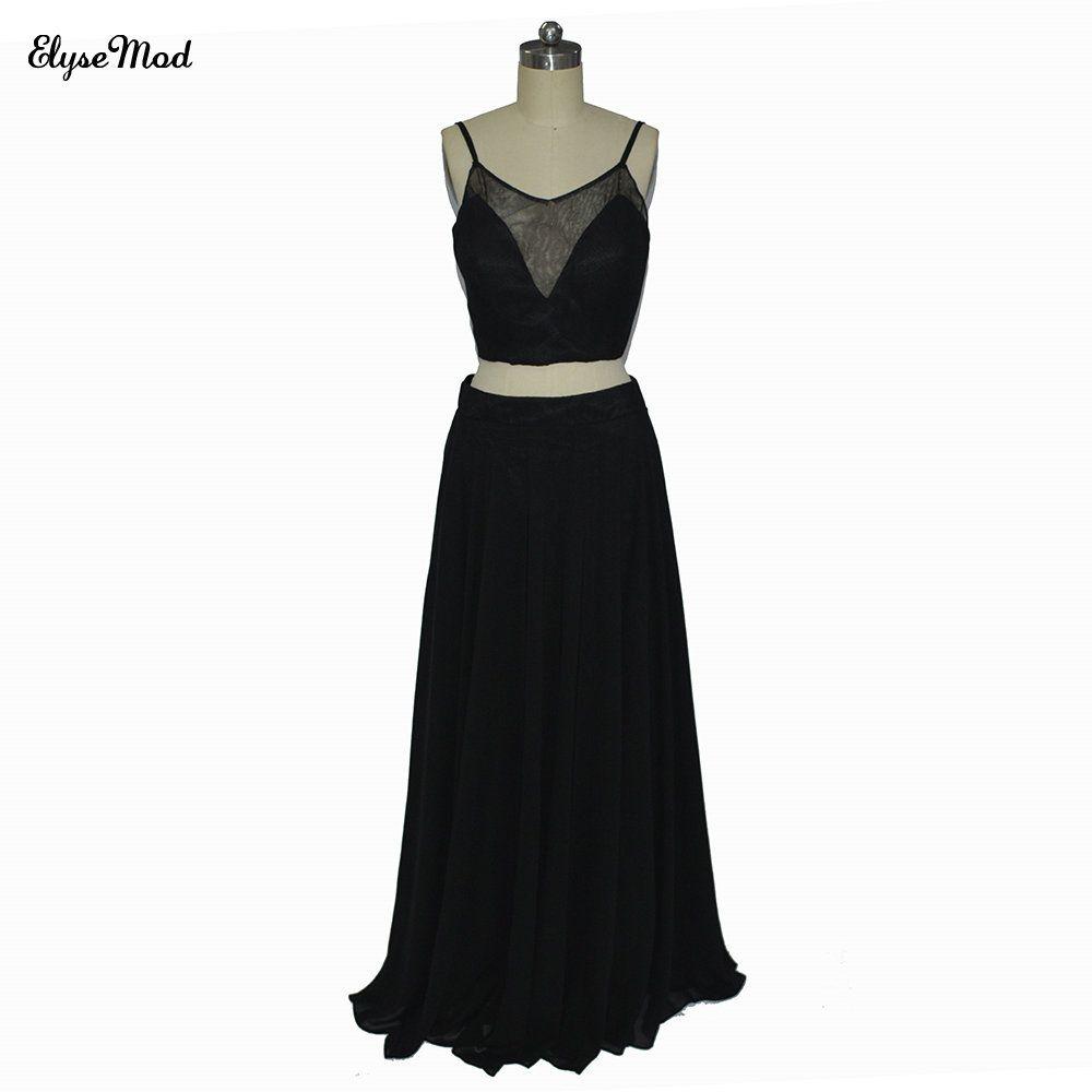 Click to buy ucuc new design aline sweetheart spaghetti strap black