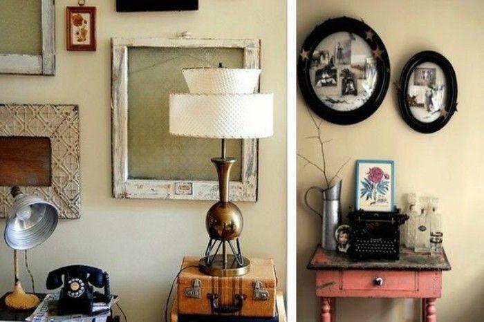 Originelle Ideen Für Retro Deko In 40 Fotos Dekoration Pinterest