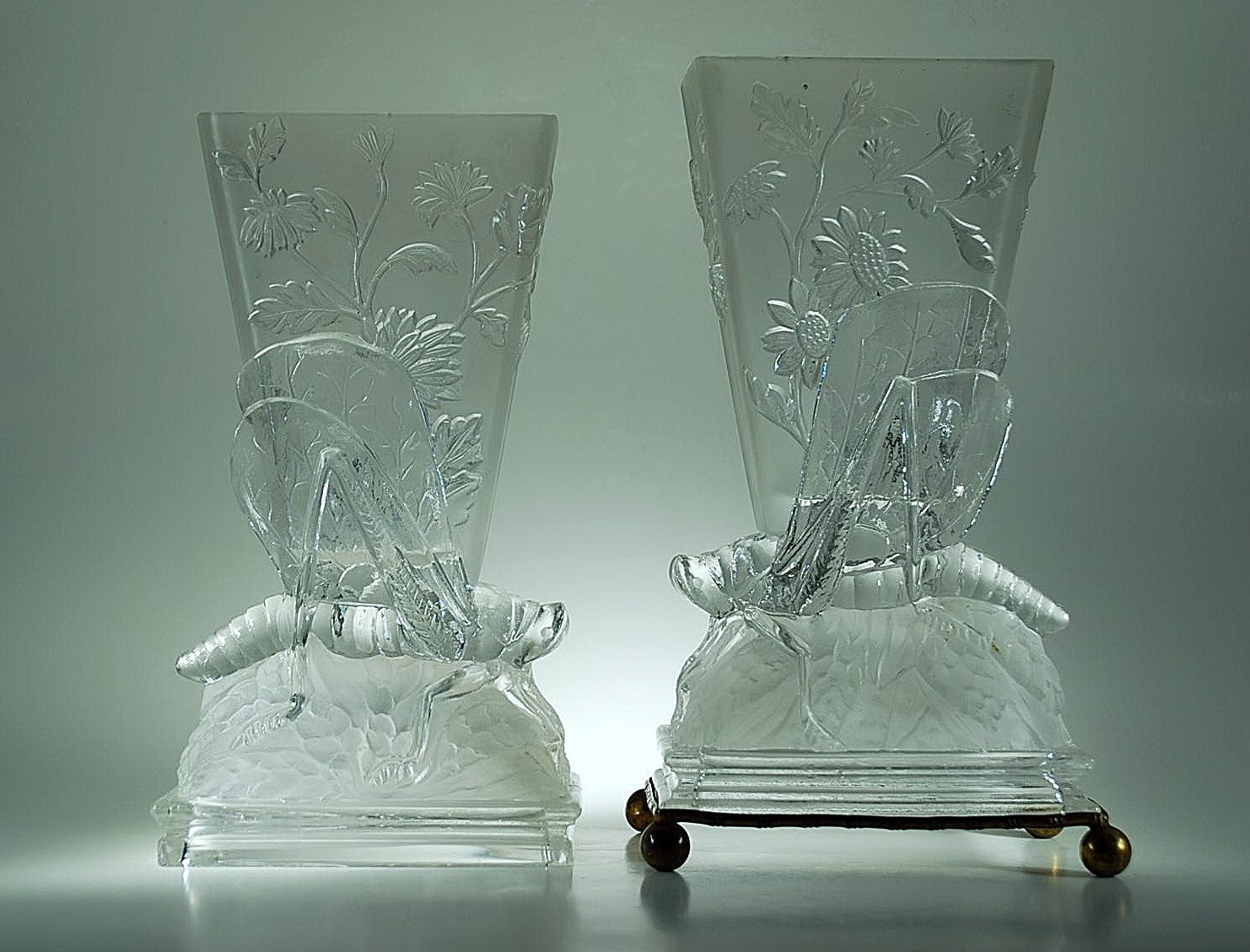 pair sons pink catalogue of glass sinai main and vase london raphael baccarat joshua vases offering