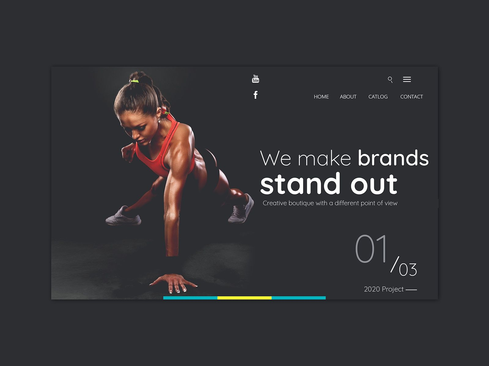 Fitness And Gym Landing Page Landing Page Landing Page Design Gym