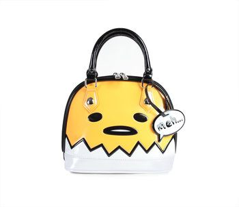 Gudetama Mini Dome Handbag Shell Cute Mini Backpacks Cartoon