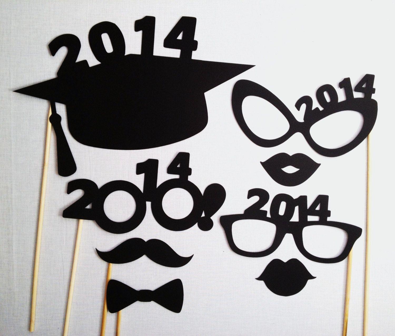graduation photo booth props pdf