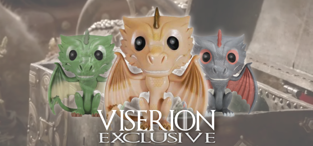 Funko likes to tease us with news on upcoming figures and exclusives, but every once in a while they manage to shock us by putting a figure out to market with no warning. It looks as if Funko has done it once again with the release of Viserion, the third dragon from the Game of...