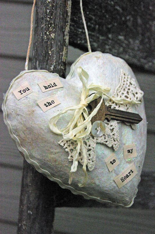 Paper Mache Heart from The Creative Patch